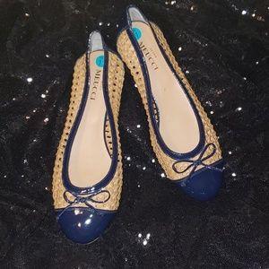 Sesto Meucci Round Toe Flats Size 11N